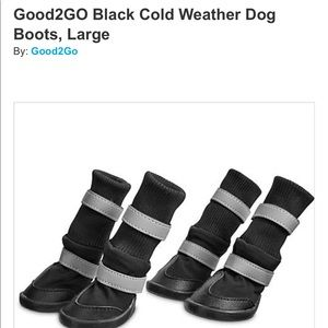 Other - All Weather Boots for Dogs